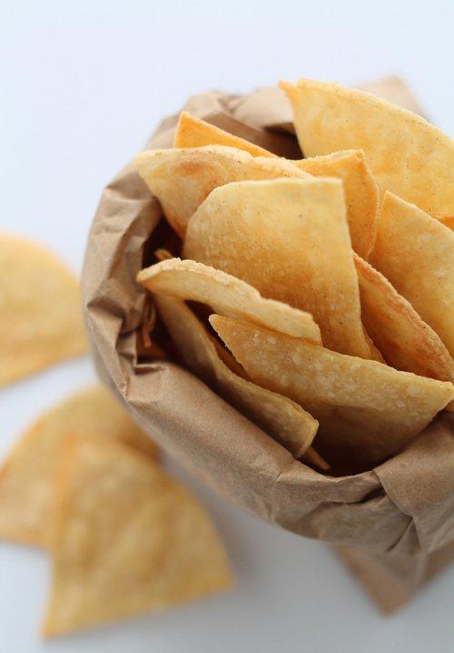 Cómo hacer nachos chips
